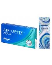 Air Optix Aqua z płynem Horien 360ml