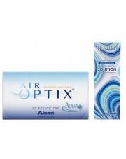 Air Optix Aqua z płynem Horien 500ml